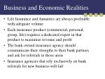 business and economic realities7