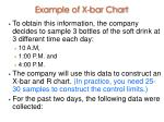 example of x bar chart28