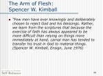 the arm of flesh spencer w kimball