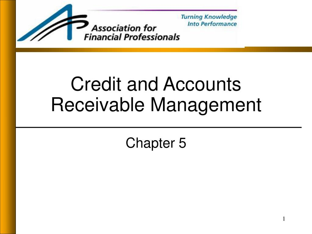 credit and accounts receivable management l.
