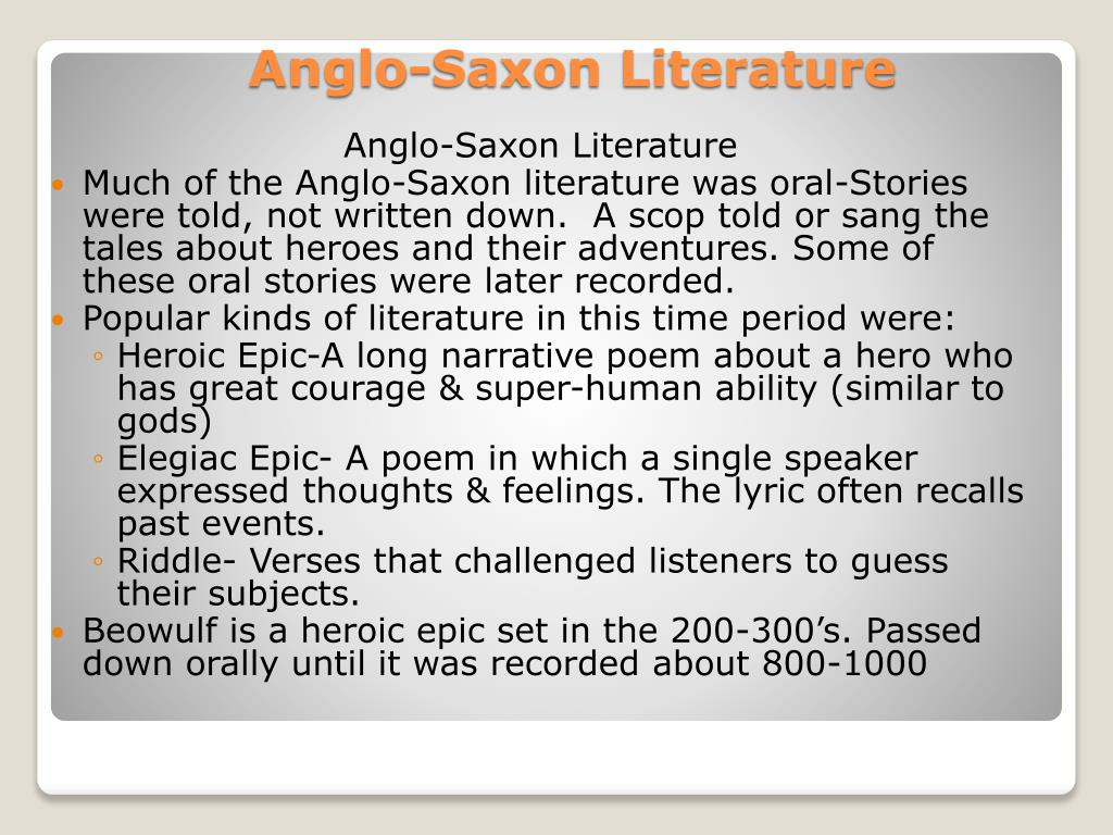 the depiction of women roles in anglo saxon literature Anglo-saxon literature (or old english literature) encompasses literature written in anglo-saxon (old english) during the 600-year anglo-saxon period of britain, from the mid-5th century to the norman conquest of 1066.