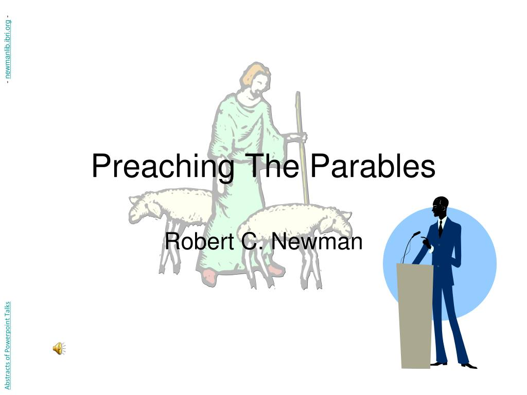 preaching the parables l.