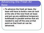 advancing the fresh air base37