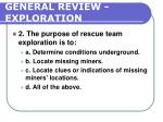 general review exploration196