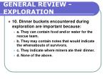 general review exploration204