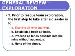 general review exploration207