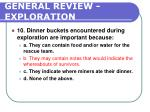 general review exploration216