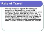 rate of travel143