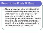 return to the fresh air base188