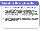 traveling through water150