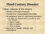third century disaster