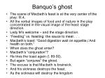 banquo s ghost