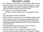 macbeth s castle