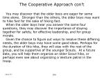 the cooperative approach con t