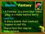 genre fantasy