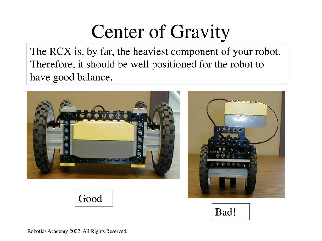 center of gravity l.