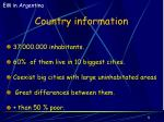 country information5