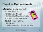 forgotten mac passwords