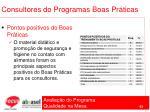 consultores do programas boas pr ticas63