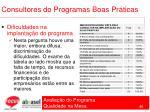 consultores do programas boas pr ticas66