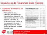 consultores do programas boas pr ticas68