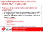 programa multiplicadores para o local de trabalho mlt participantes76