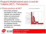 programa multiplicadores para o local de trabalho mlt participantes81