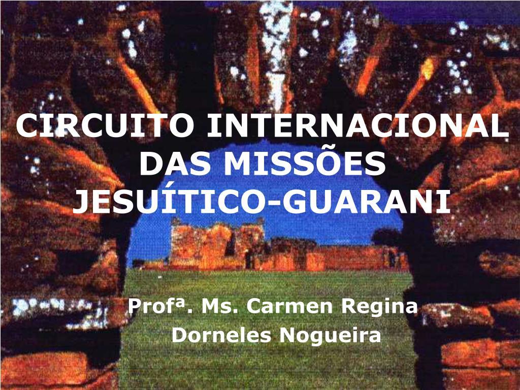circuito internacional das miss es jesu tico guarani l.
