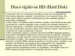 disco r gido ou hd hard disk