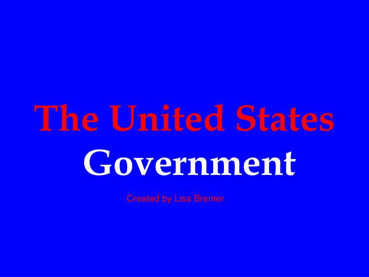 the united states government n.