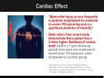 cardiac effect