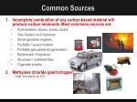 common sources