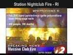 station nightclub fire ri