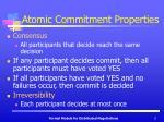 atomic commitment properties