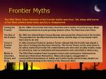 frontier myths