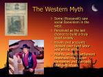 the western myth