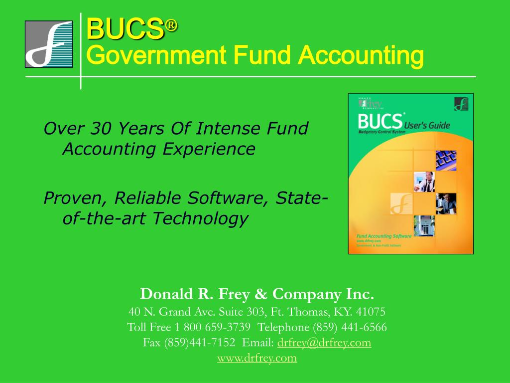 bucs government fund accounting l.