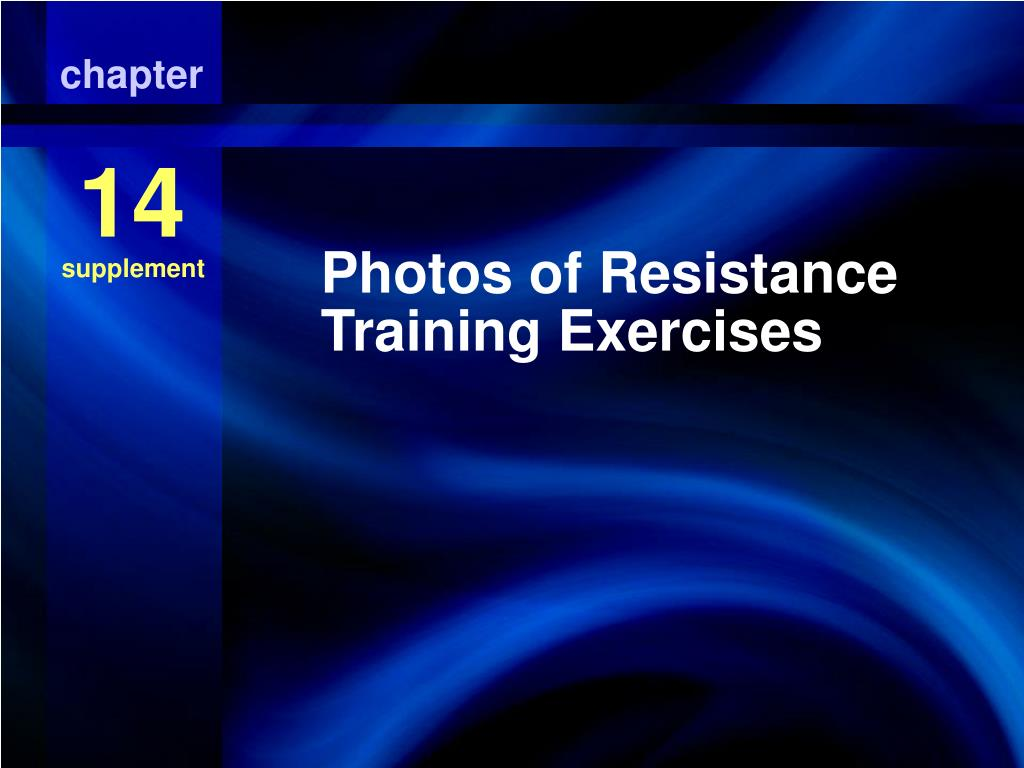 photos of resistance training exercises l.