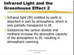 infrared light and the greenhouse effect 2