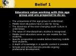 belief 1