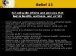 belief 13