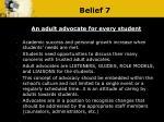 belief 7