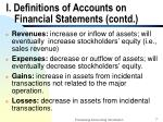 i definitions of accounts on financial statements contd7