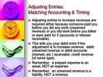 adjusting entries matching accounting timing4