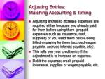 adjusting entries matching accounting timing5