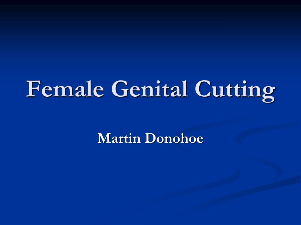 female genital cutting l.