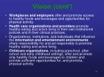vision cont