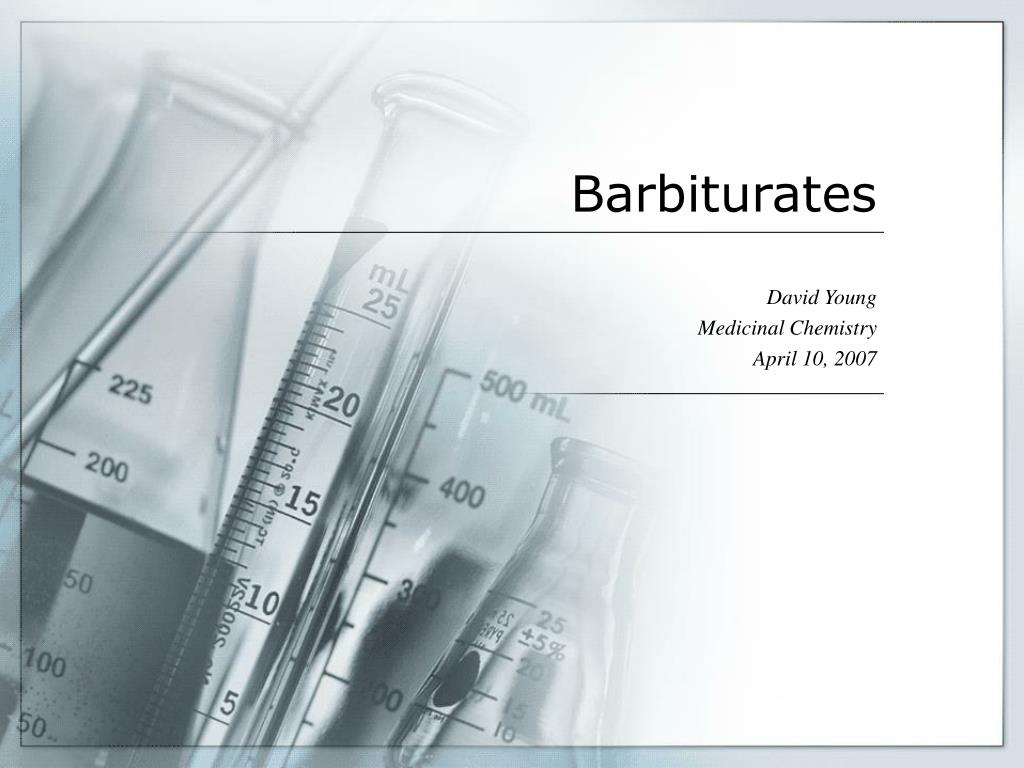 barbiturates l.