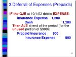 3 deferral of expenses prepaids21