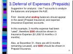 3 deferral of expenses prepaids23